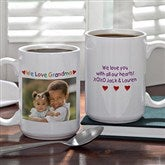 Personalized Photo Message Coffee Mug- 15 oz. - 2562-L