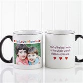 Personalized Photo Message Coffee Mug- 11 oz. - 2562-S