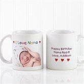 Personalized Photo Message Coffee Mug 11 oz.- White - 2562-W