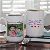 Personalized Photo Message Coffee Mug- 15 oz. - 2584-L