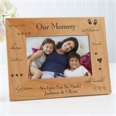 What You Mean To Me Personalized Frame- 4 x 6 - 2598