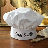 You Name It Personalized Adult Chef Hat - 2627
