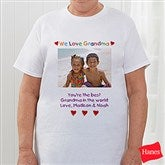 Personalized Photo Message Hanes® T-Shirt - 2642-CT