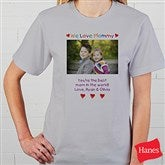 Personalized Photo Message T-Shirt - 2642-CT