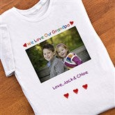 Personalized Photo Message© Adult T-Shirt - 2643-T