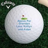 Above Par Golf Ball Set - Callaway® Warbird Plus - 2644-CW