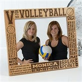 V is for Volleyball Personalized Frame- 8 x 10 - 2673-L