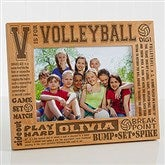V is for Volleyball Personalized Frame- 5 x 7 - 2673-M