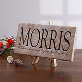 Sentiments Of The Home Personalized Canvas - 2682