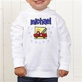 He's All Boy Personalized Toddler Hooded Sweatshirt - 2750-CTHS