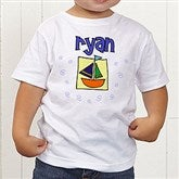 He's All Boy Personalized Toddler T-Shirt - 2750-TT