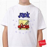 He's All Boy Personalized Hanes® Youth T-Shirt - 2750-YCT