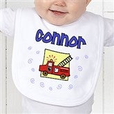 He's All Boy Personalized Baby Bib - 2750-B