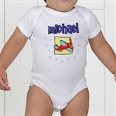 He's All Boy Personalized Baby Bodysuit - 2750-CBB