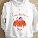 Pumpkin Princess© Toddler Hooded Sweatshirt - 2875-THS