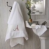 Monogram Elegance Bath Towel - 2896-1
