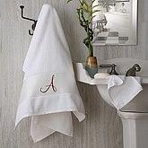 Monogram Elegance Bath Towel - 2896-1