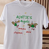 Chirstmas Angels Adult T-Shirt - 2899-T