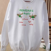 Christmas Angels Adult Sweatshirt - 2899-S