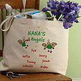 Christmas Angels Canvas Tote Bag - 2899-B