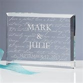 Love Is Patient Personalized Keepsake - 3193-N