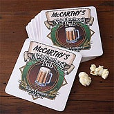 Neighborhood Pub Coasters - Set of 8 - 3256D-C