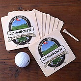 19th Hole Coasters - Set of 8 - 3259D-C