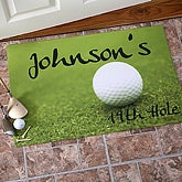 19th Hole Personalized Golf Doormat - 3272