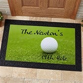 19th Hole Personalized Golf Doormat- 20x35 - 3272-M