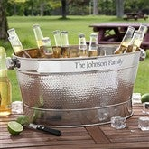 Hampton Collection Personalized Party Tub - 3305