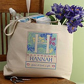 Name Meaning Personalized Canvas Tote - 3339