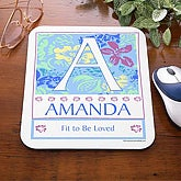 Name Meaning Personalized Mouse Pad - 3340