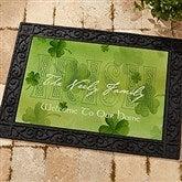 An Irish Welcome Personalized Doormat- 18x27 - 3346