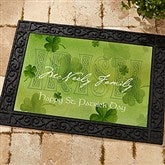 An Irish Welcome Personalized Doormat - 3346