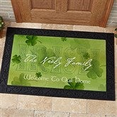 An Irish Welcome Personalized Doormat- 20x35 - 3346-M