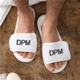Monogram Terry Spa Slippers - Mens - 3347-M
