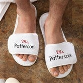 Mr. Personalized Terry Spa Slippers - 3348-M