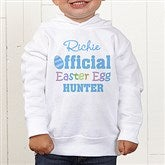 Official Egg Hunter Personalized Toddler Hooded Sweatshirt - 3445-CTHS