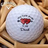 Loving Hearts Golf Ball Set - Callaway® Warbird Plus - 3454-CW