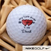 Loving Hearts Golf Ball Set - Nike Mojo® Extremely Long - 3454-NM