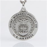 St. Michael Men's Pendant- Air Force - 3529-AF