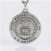St. Michael Men's Pendant- Air Force - 3529-AF