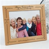 Generations of Family Picture Frame- 8 x 10 - 3564-L