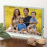 Photo Expressions Glass Block Frame- Large - 3670-L