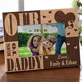 We Love Him Personalized Frame- 4x6 - 3783