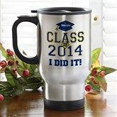 Cheers to the Graduate© Travel Mug - 3833-S