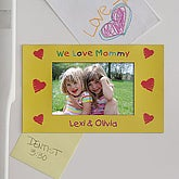 Loving You Personalized Photo Magnet Frame - 3842