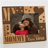 We Love Her Personalized Picture Frame - 5 x 7 - 3867-M