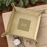 Monogram Valet Tray - Tan - 3868-T