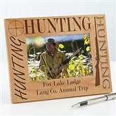 Big Hunter Personalized Frame- 4 x 6 - 3874